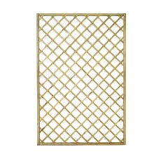 4ft High (1200mm) Forest Hidcote Lattice Trellis - Pressure Treated