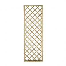 2ft High (600mm) Forest Hidcote Lattice Trellis - Pressure Treated