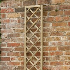 1ft High (300mm) Forest Hidcote Lattice Trellis - Pressure Treated
