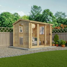7 x 9 Mercia Wollaton Log Cabin