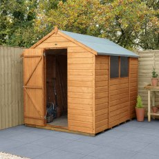 6 x 8 (1.78m x 2.33m) Forest Shiplap Shed