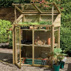 4 x 2 (1.20m x 0.62m) Forest Mini Greenhouse