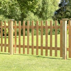 3ft High (900mm) Forest Pale or Palisade Fence Panel