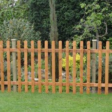 4ft High (1200mm) Forest Pale Fence Panel