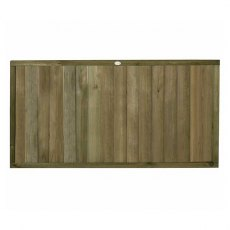 3ft High (910mm) Forest Vertical Tongue and Groove Fence Panel - Pressure Treated