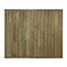 5ft High (1520mm) Forest Vertical Tongue and Groove Fence Panel - Pressure Treated