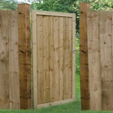 6ft High (1800mm) Forest Pressure Treated Featheredge Gate