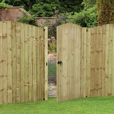 6ft High (1800mm) Forest Heavy Duty Tongue and Groove Gate