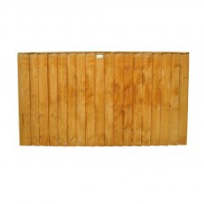 3ft High (930mm) Forest Featheredge Fence Panel