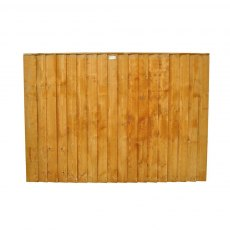 4ft High (1230mm) Forest Featheredge Fence Panel