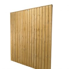 5ft High (1540mm) Forest Featheredge Fence Panel