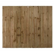 5ft High (1500mm) Forest Featheredge Fence Panel - Pressure Treated