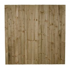 6ft High (1800mm) Forest Featheredge Fence Panel - Pressure Treated