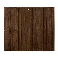 5ft High (1530mm) Forest Pressure Treated Featheredge Contractor Panel