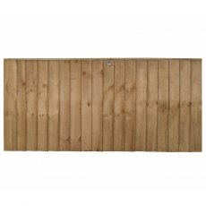 3ft High (930mm) Forest Pressure Treated Vertical Board Fence Panel