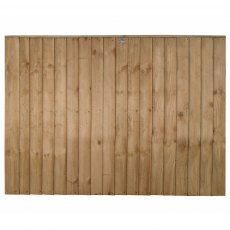 4ft High Forest Pressure Treated Vertical Board Fence Panel