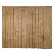 5ft High Forest Pressure Treated Vertical Board Fence Panel