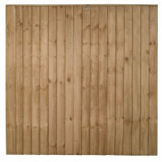 6ft High (1850mm) Forest Pressure Treated Vertical Board Fence Panel