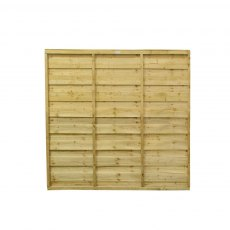6ft High (1830mm) Forest Solway Fence Panel
