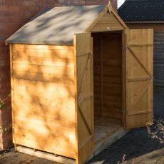 4 x 6 Forest Overlap Windowless Shed