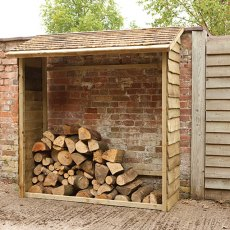 6 x 3 (1.83m x 0.84m) Forest Wall Log Store