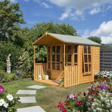 10 x 7 (3.05m x 2.13m) Rowlinson Arley Summerhouse