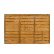 4ft High (1220mm) Forest Trade Lap Panel