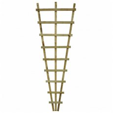 6ft High (1830mm) Forest Malvern Fan Trellis - Pressure Treated