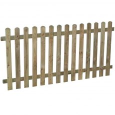 3ft High (900mm) Forest Heavy Duty Pale Fence Panel - Pressure Treated
