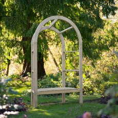 Forest Infinity Arbour - Pressure Treated