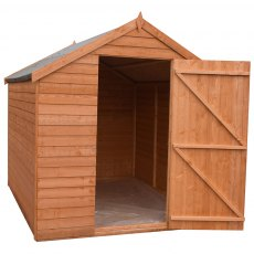 Shire 8 x 6 (2.44m x 1.86m) Shire Value Pressure Treated Overlap Shed - Windowless