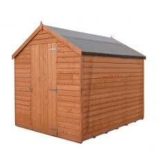 7 x 5 (2.05m x 1.62m) Shire Value Pressure Treated Overlap Shed - Windowless