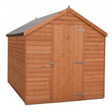 7 x 5 (2.05m x 1.62m) Shire Value Overlap Shed - Windowless