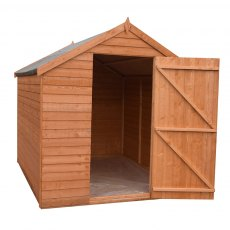 7 x 5 Shire Value Overlap Shed - Windowless - Door open
