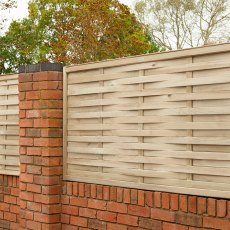 3ft High (910mm) Forest Woven Fence Panel - Pressure Treated