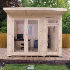 10 x 10 (3.10m x 3.10m) Mercia Insulated Garden Room - FREE Installation