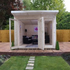10 x 14 (3.10m x 4.10m) Mercia Insulated Garden Room