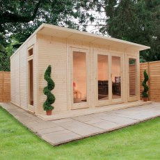 17 x 14 (5.10m x 4.10m) Mercia Insulated Garden Room - FREE Installation