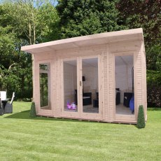 14 x 14 (4.10m x 4.10m) Mercia Insulated Garden Room -  FREE Installation