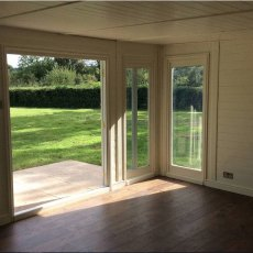 17 x 10 (5.10m x 3.10m)Mercia Insulated Garden Room - Internal Window View