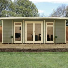 20 x 14 (6.10m x 4.10m) Mercia Insulated Garden Room - FREE Installation