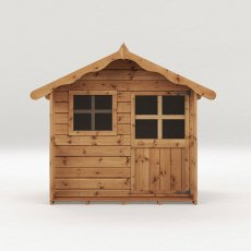 5 x 5 (1.49m x 1.51m) Mercia Poppy Playhouse - dimensions