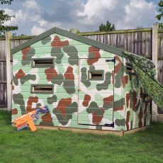 7 x 5 (2.23m x 1.51m) Mercia Hideaway Playhouse
