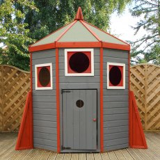 8 x 6 (2.52m x 1.87m) Mercia Rocket Wooden Playhouse