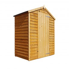 5 x 3 Mercia Overlap Apex Shed - Windowless