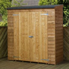 3 x 6 (0.83m x 1.81m) Mercia Overlap Pent Storage Unit