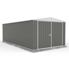 20 x 10 (5.96m x 3.00m) Mercia Absco Metal Utility Workshop in Grey