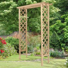 Forest Trellis Arch - Pressure Treated