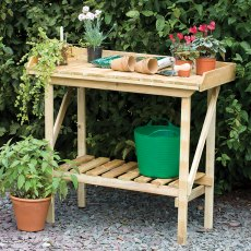 Forest Potting Bench - Pressure Treated - 3ft 6in Long