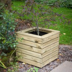 Forest Linear Planter - Square - Pressure Treated - without background displayng fir